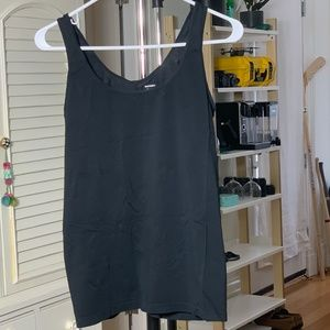Old Navy Fitted Tank Top Color: Black Sz: M